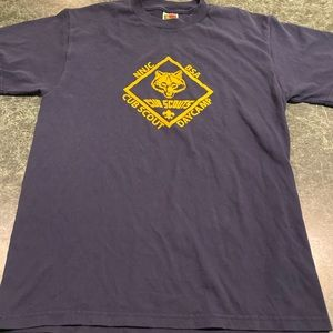 Vintage Cub Scouts Day Camp Tee Size Medium